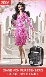 Кукла Барби от Дианы фон Фюрстенберг Diane von Furstenberg Barbie