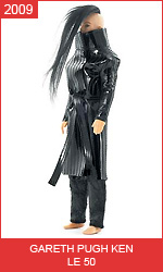 Кен кукла от Гарета Пью Gareth Pugh