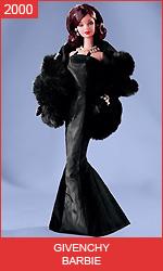 Кукла Барби от Живанши Givenchy Barbie