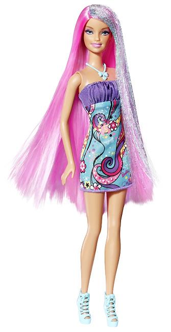 Новая Барби 2012 цветные волосы Hair-Tastic Barbie