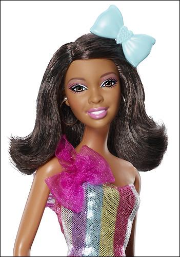 Новая Барби 2012 темнокожая брюнетка фото