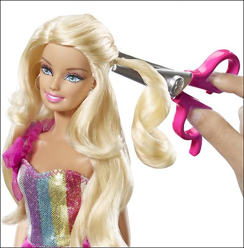 Новые Барби 2012 Hair-tastic Barbie Cut & Style
