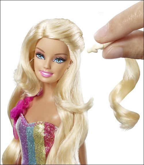Новинки Барби 2012 Hair-tastic Barbie Cut & Style