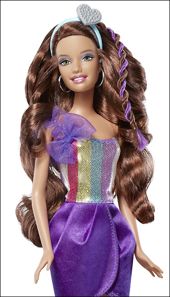 Кукла Барби парикмахер 2012 куклу можно стричь Hair-Tastic cut & style