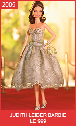 Коллекционная кукла Барби от Джудит Лебер Judith Leiber