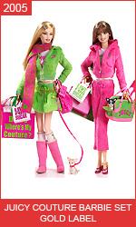 Коллекционные куклы Барби от Juicy Couture