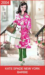 Коллекционная кукла Барби от Kate Spade