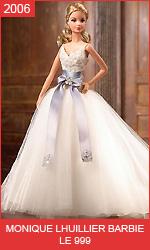 Кукла Барби в свадебном платье от Моник Люлье