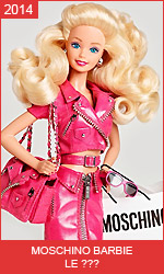 Коллекционная кукла Moschino Barbie