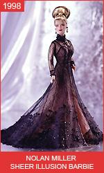 Кукла Барби в платье от Нолана Миллера