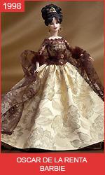 Кукла Барби от Оскара де ла Рента