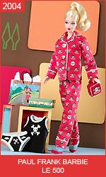 Кукла Барби от Поля Фрэнка