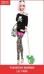 Кукла Барби Токидоки