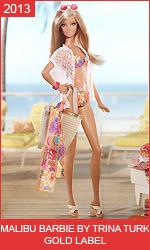 Коллекционная Барби Трины Терк