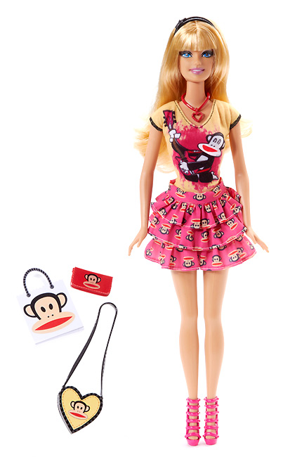Новинка Барби 2012 Barbie Loves Paul Frank