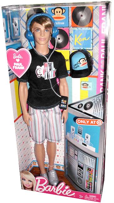 Новая кукла 2012 года Barbie Loves Paul Frank - Ken