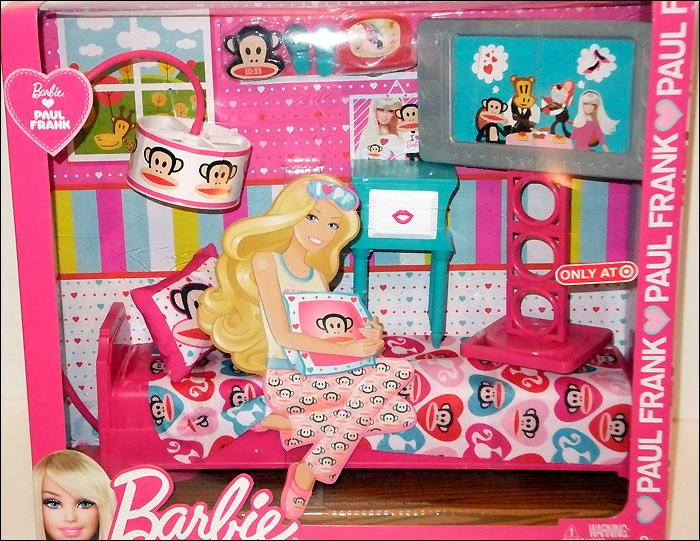 Набор для спальни Барби 2012 - Barbie Loves Paul Frank