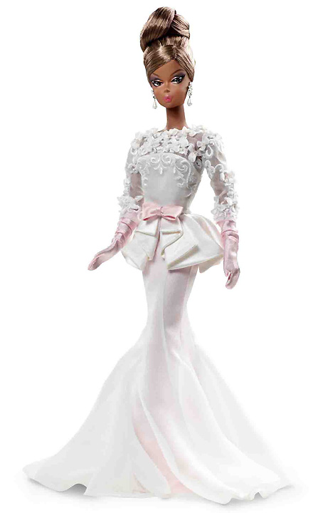 Evening Gown Silkstone Barbie 2012