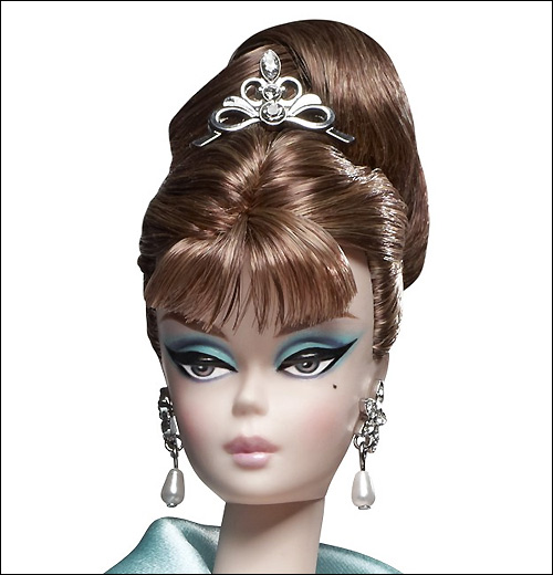 Фото коллекционной куклы Барби Силкстоун Party Dress