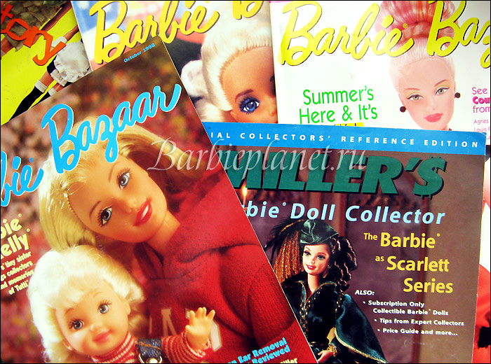 Журналы о кукле Барби коллекционирование