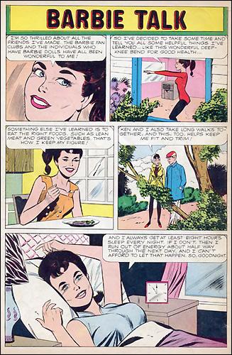 Комиксы о Барби американские