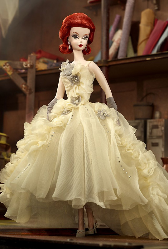Gala Gown Silkstone Barbie 2012