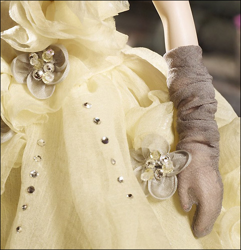 Аксессуары для коллекционной Барби Gala Gown Silkstone Barbie
