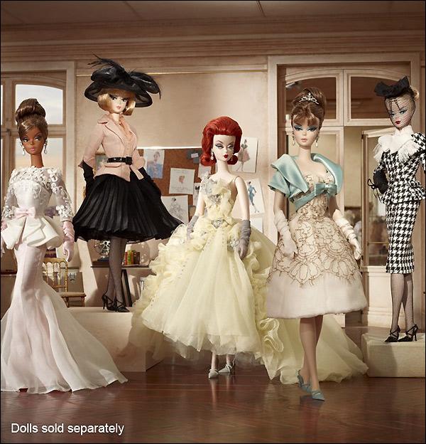 Коллекционные куклы Silkstone Barbie 2012
