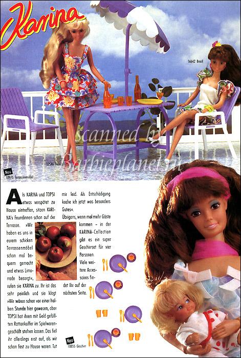 Мебель для немецкой куклы Карины аналога Барби