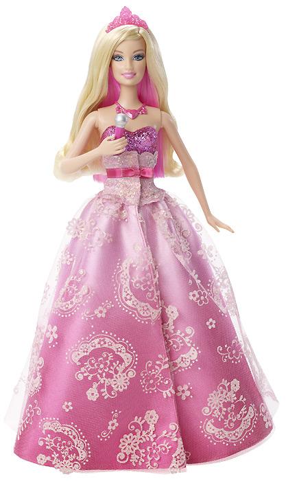 Игровые Барби 2012: коллекция Princess and the Popstar