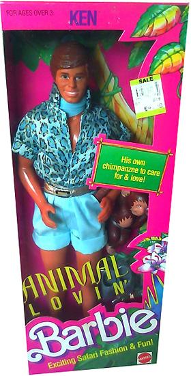 Кукла Animal Lovin Ken 1988