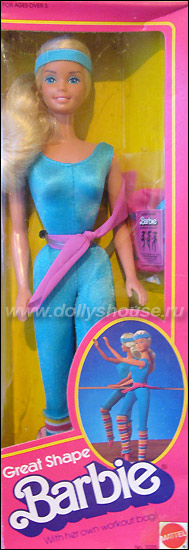 Барби гимнастка Toy Story Great Shape Barbie 1983