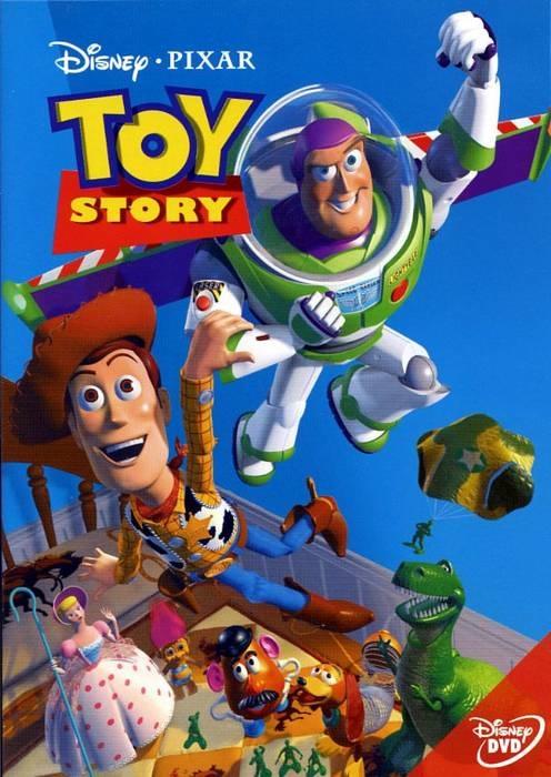Постер мультфильма История Игрушек Toy Story
