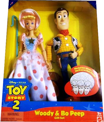 Редкий сет: куклы Вуди и Бо Пип