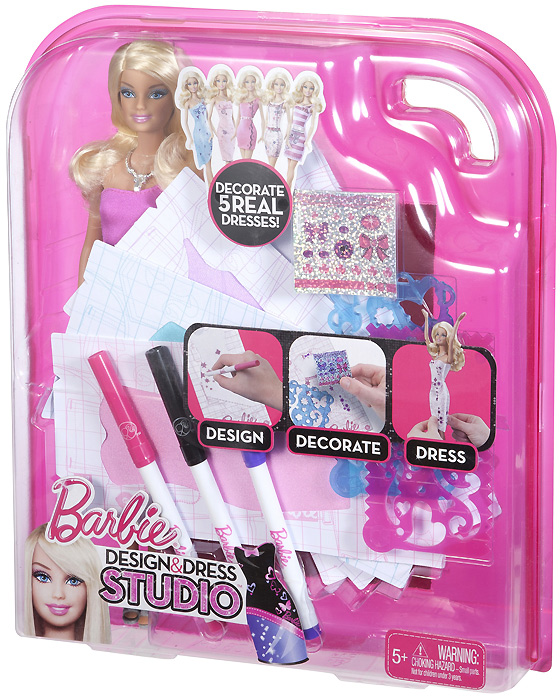 Барби 2012 новинка Barbie Design Dress Studio