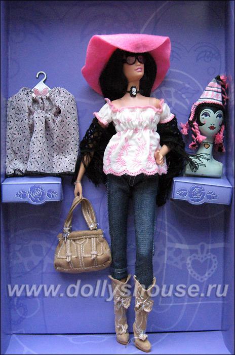 Коллекционная кукла Барби от Анны Суи
