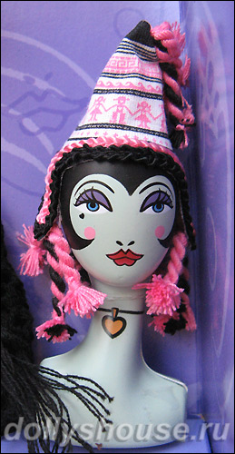Манекен Анны Суи Dolly Head для Barbie Anna Sui Boho