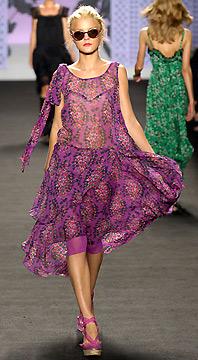 Одежда от Анны Суи коллекция