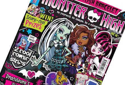 Издательство Egmont представляет журнал Monster High