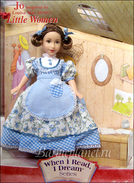 Кукла When I Read I Dream Jo