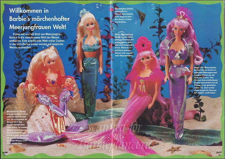 Фото кукол Барби русалок