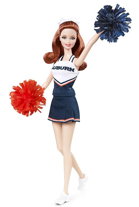 Коллекционная кукла Барби чирлидер 2012