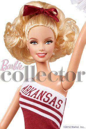 Фото Барби новинки 2012 коллекционная болельщица