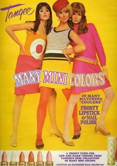 Мода 1960-х годов - фото женских платьев