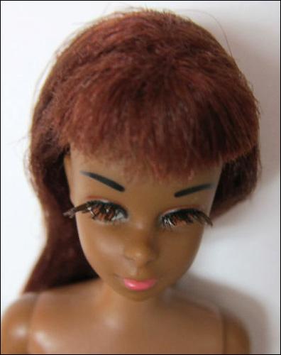 Чернокожая кукла винтажная