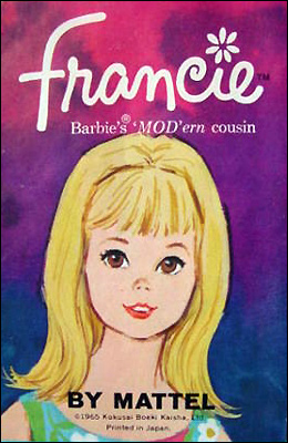 Портрет винтажной куклы Фрэнси