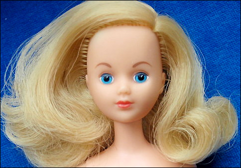 Европейская кукла Фрэнси 70-е