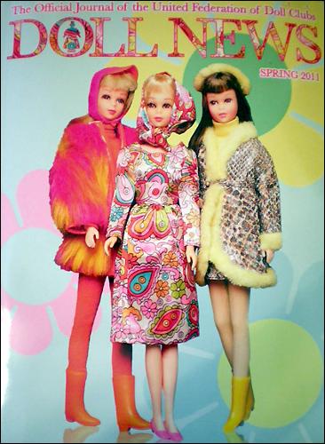 Куклы Фрэнси на обложке журнала