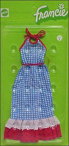 винтажная одежда для куклы шестидесятых