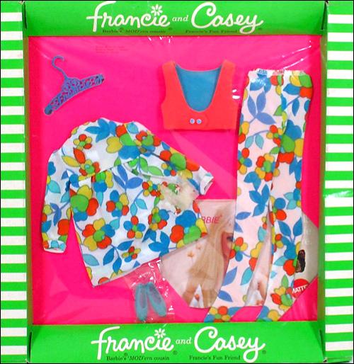 одежда для винтажной куклы шестидесятых годов